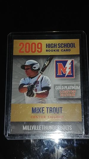 2009 Mike Trout High School Baseball Card for Sale in Pico Rivera, CA