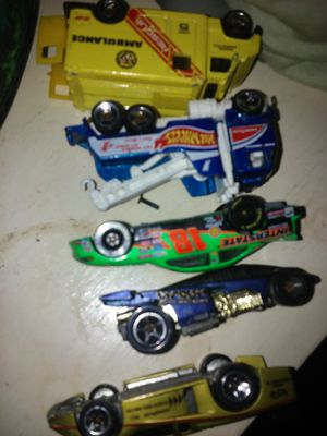 5 collectible 1988 HOT WHEELS toys for Sale in Austin, TX
