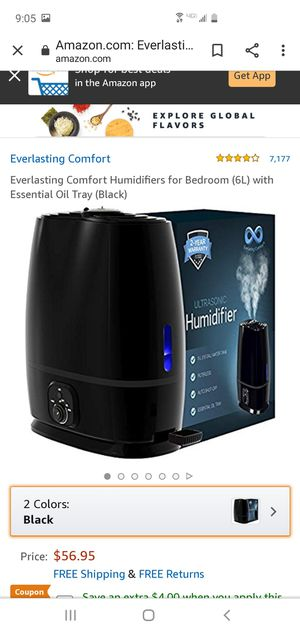 Humidifier for Sale in Huntington Park, CA