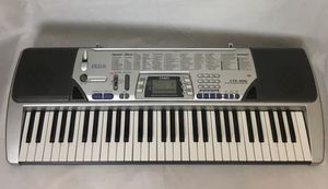 Casio CTK 496 61 Key Portable Keyboard Works Great for Sale in Chicago, IL