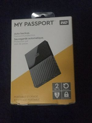 My Passport 2TB External Hard Drive for Sale in Queens, NY