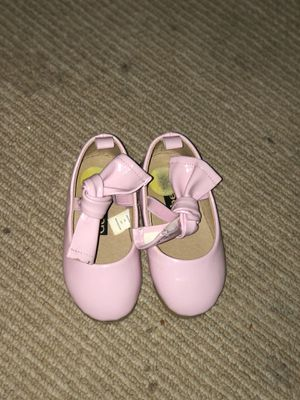 Baby girl pink patent dress shoes for Sale in Washington, DC