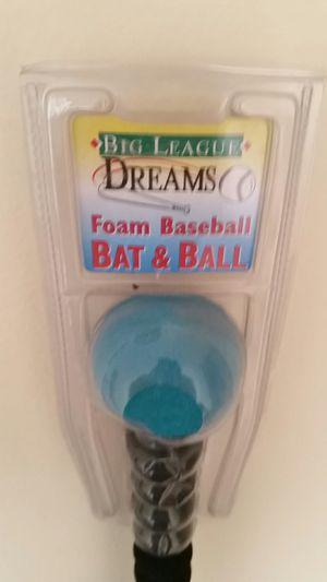 Foam Baseball Bat & Ball for Sale in Beverly Hills, CA
