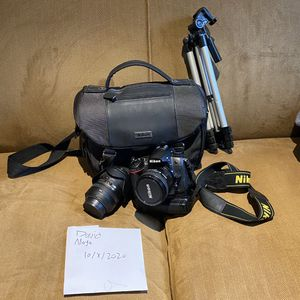 Nikon d7000 with 2 lenses !! for Sale in Norwalk, CT