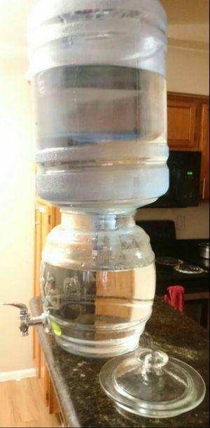 Glass beverage / water dispenser for Sale in Rockville, MD