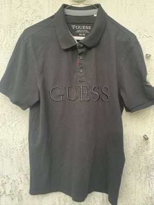 Guess collar shirt size medium for Sale in North Miami, FL