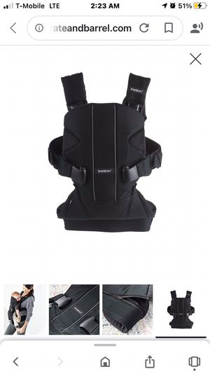 BabyBjorn carrier for Sale in Washington, DC
