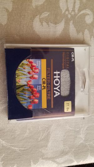 HOYA, filter. CIR-PL 77MM for Sale in Victorville, CA