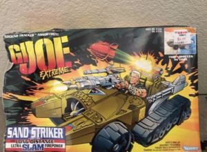 Vintage GI Joe Extreme Sand Striker All Terrain Vehicle with Action Figure for Sale in Gilbert, AZ