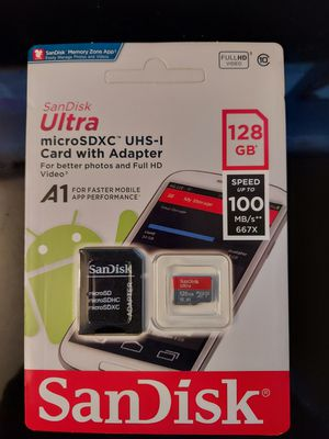 Sd card 128gb $20 for Sale in Buena Park, CA