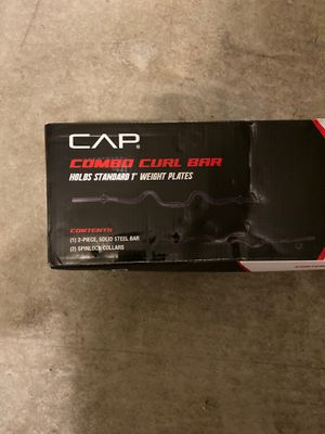 CAPS Curl bar / + 30lbs for Sale in Surprise, AZ