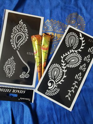 Stencils & Henna Cones for Sale in Parsippany, NJ