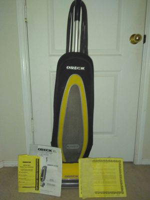 Oreck Lightweight upright XL Gold Vacuum for Sale in Mansfield, TX