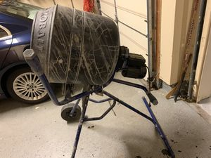 Kobalt electric cement mixer. Used once a few weeks ago. for Sale in Herndon, VA
