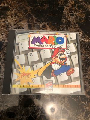 Mario Teaches Typing 1995 computer game for Sale in Surprise, AZ