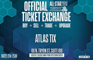 NBA All Star Weekend Official Ticket Exchange for Sale in Charlotte, NC