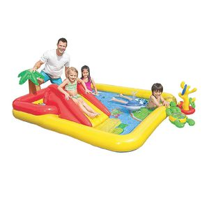 """Intex Ocean Inflatable Play Center, 100"""" X 77"""" X 31"""", for Ages 2+ for Sale in Santa Ana, CA"""