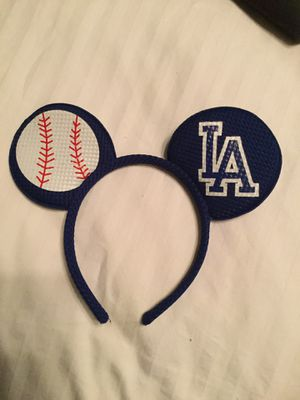 Dodger Mickey Ears for Sale in Rancho Cucamonga, CA