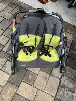 Remolque morochos para bici / bike trailer twin kids for Sale in Pembroke Pines, FL