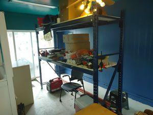 Heavy duty metal storage racks for Sale in Hillsboro, OR