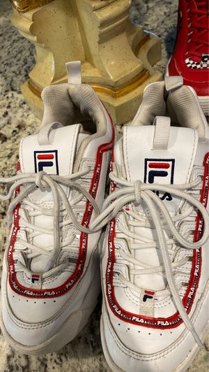 Flias white and red for Sale in Lake Worth, FL