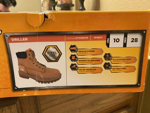 Drillers work boots (steel toe) for Sale in Forney, TX