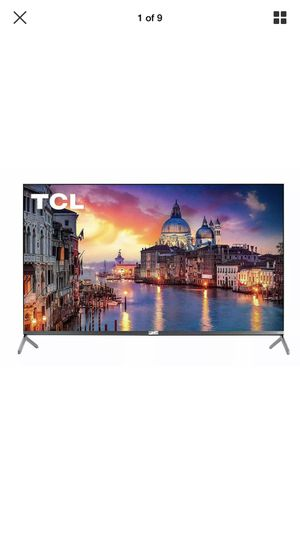 "TCL 55"" Class 6-Series 4K UHD Dolby Vision HDR Roku Smart TV - 55R617 for Sale in Ontarioville, IL"