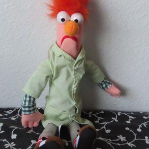 "Disney Theme Parks | Muppet Vision 3D | Beaker 13"" Plush | NWT for Sale in Buda, TX"