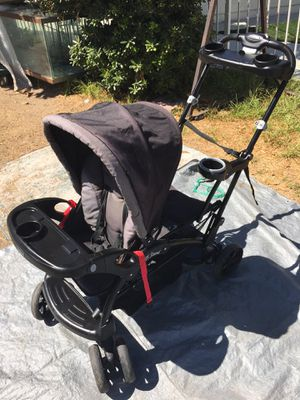 Baby trend stroller double seat N stand for Sale in Colton, CA