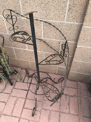 Wrought iron garden decor for Sale in Fullerton, CA