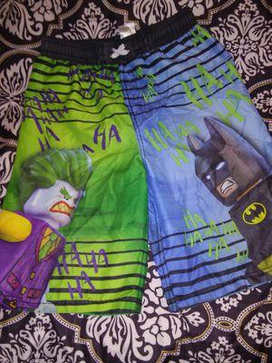 Boys size 14-16 Lego Batman/Joker swim trunks for Sale in San Angelo, TX
