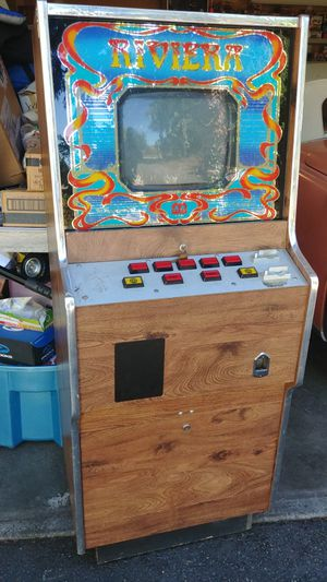 Vintage Rivieria upright video arcade game for Sale in Tacoma, WA