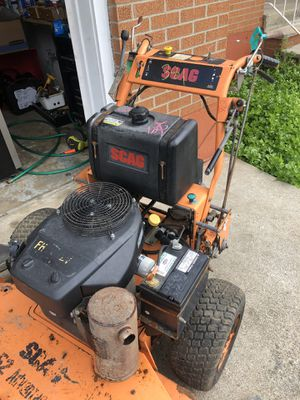 Scag 52 inch walk behind mower for Sale in Johnson City, NY