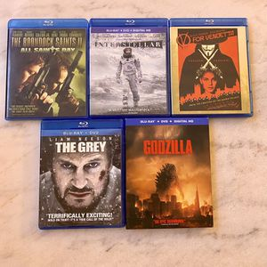 5 Blue ray Movie Special for Sale in Lincoln Park, MI