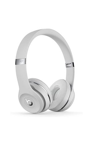 Beats Solo3 Wireless On-Ear Headphones - Apple W1 Headphone Chip, Class 1 Bluetooth, 40 Hours Of Listening Time - Satin Silver (Latest Model) for Sale in Brooklyn, NY