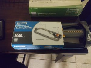 Meinor Metal oscillating sprinkler brand new still in the boz, never used for Sale in Elk Grove, CA