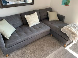Sectional Sofa - Grey for Sale in Irvine, CA