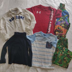 4T kids shirts clothes pijamas Carter's polo under armour for Sale in Avondale, AZ