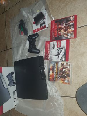 PS3 sony playstation 3 120 GB for Sale in Los Angeles, CA