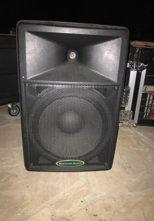 15 inch American audio powered speaker(s) for Sale in San Pedro, CA