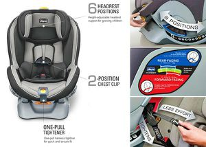 Chicco convertible car seat for Sale in Port St. Lucie, FL
