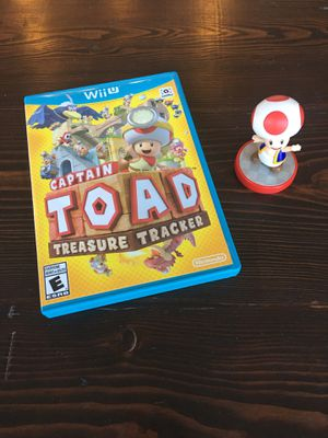 Captain Toad Treasure Tracker for Nintendo Wii U with Toad Amiibo for Sale in Brentwood, CA