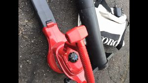 Toro elec leaf blower with vac attachment for Sale in Waterford Township, MI