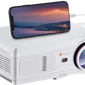"Lexsong HD Video Projector 1920×1080P 300""Display LED LCD Projectors 6000 Lumens for Sale in Monterey Park, CA"