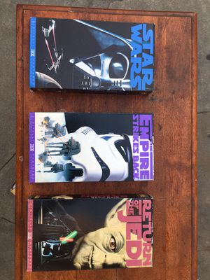 Star Wars vhs movies for Sale in Bell Gardens, CA