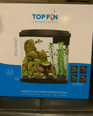 Top Fin 3.5 gal tank for Sale in Houston, TX