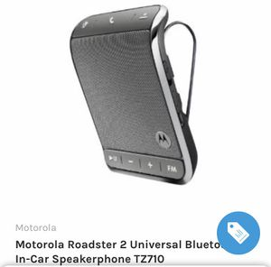 Car speaker/phone (Motorola) for Sale in Lakewood, CA