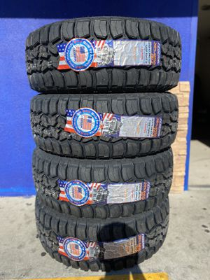 35X12.50R17 FOUR BRAND NEW TIRES , INSTALLATION & BALANCING INCLUDED for Sale in Rialto, CA