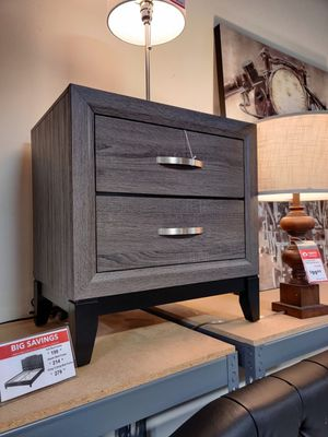 Nightstand, Distressed Grey for Sale in Santa Ana, CA