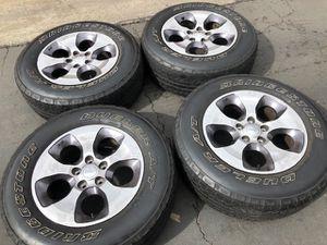 """(4) 18"""" Jeep Wrangler Wheels - $225 for Sale in Santa Ana, CA"""